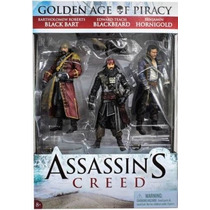 Assassins Creed Golden Age Of Piracy 3 Pack - Mcfarlane