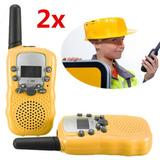 Radio Comunicador 2pc Infantil Criança Brinquedo Presente