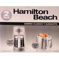 Combo Cafetera Y Tostador Hamilton Beach