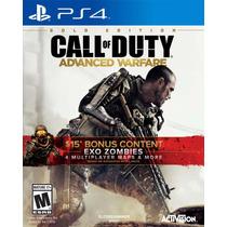 Call Of Duty Advanced Warfare Ps3 Golden Edition