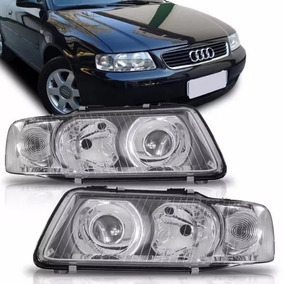 Par Farol Audi A3 2001 2002 2003 2004 2005 06 Importado Novo