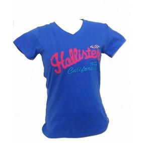 Kit 3 Camiseta Feminina Hollister/ Blusinhas Hollister