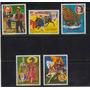 Paraguay 1977 Libros Y Trajes Tipicos Serie Completa