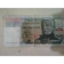 Billete Argentino De $100.000 !!!
