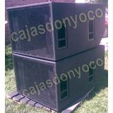 Caja Vacia Para Bafle Modelo Eaw Sb1000 Zr No Das, Jbl, Rcf