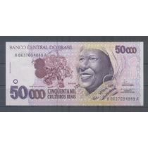 Brasil 50000 Cruzeiros Reais 1994 La Bahiana P242 S/circular