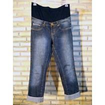 Calça Jeans Gestante Tamanho M