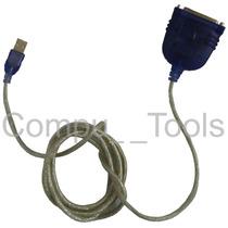 Cable Adaptador Usb A Paralelo Db25