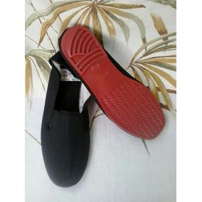 Zapatos Abuelitas Talla 42/43 Negro Unisex
