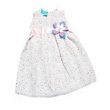 Bellos Vestido Para Niñas Bebes En Popelina Varios Colores