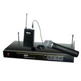 Microfonos Inalambricos Dobles Uhf Mipro - Mr823 - Fervanero