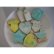Lindas Y Deliciosas Galletas Decoradas Baby Shower, Bautizo