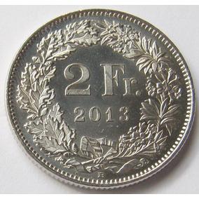 Suiza Moneda De 2 Francos Año 2013 B Casi Sin Circular - S/c