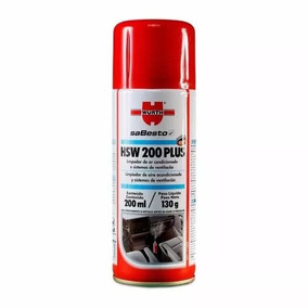 Higienizador Hsw 200 Plus Limpa Ar Condicionado Automotivo