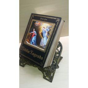 Porta Biblia Livro Aluminio Batido Ou Fundido