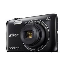 Camara Digital Nikon Coolpix S3700 Con Funda Y Memoria 8gb