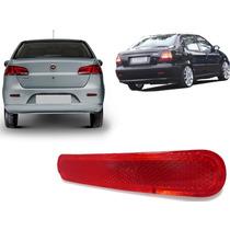 Refletor Vermelho Parachoque Traseiro Fiat Siena 2001 A 2013