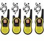 4 Radio Comunicador Motorola Talkabout Mh230 37km Com Fone