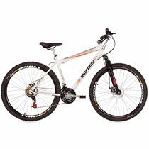 Bicicleta Mtb Mormaii Aro 29 Jaws Disk Brake Susp. Branco