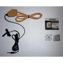 Micro Ponto Eletronico Fone Invisível Escuta Ouvido Espião