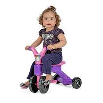 Velocipede Triciclo P Menina Lekinha Criança Lilas E Rosa