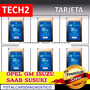 Tarjetas Tech2 De 32mb Para Escaner Gm Tech 2 Opel, Suzuki