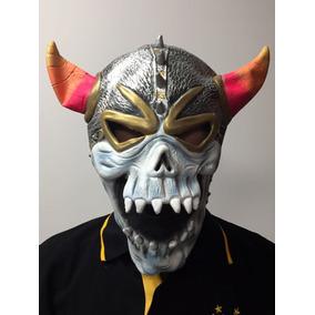 Mascara Halloween Latex Calavera Cotillon