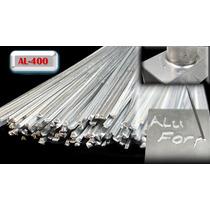 10 Varillas Soldadura Soldar Aluminio Soplete Originales Diy
