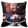 Terror Cojin Chucky Saw