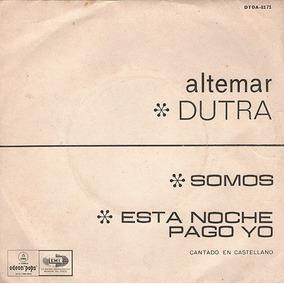Altemar Dutra - Canta En Castellano - Disco Simple