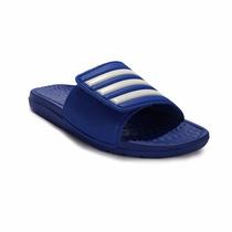 Ojotas Adidas Natacion Voloomix Vario Con Velcro Azul
