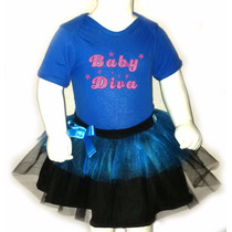 Disfraz Halloween Para Bebes - Pañalero+tutu - Baby Diva