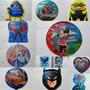 Balão Metalizado Festa Infantil 12 Modelos R$ 1,55 Unidade