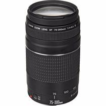 Lente Canon Ef 75-300mm F/4-5.6 Iii Autofoco 12 X Sem Juros