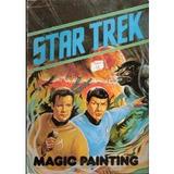 Libro Star Trek Magik Paint Book Libro Pintar Uk Retr 79 Kxz
