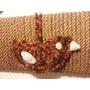 Pájaro Colgante Tejido Al Crochet Totalmente Artesanal