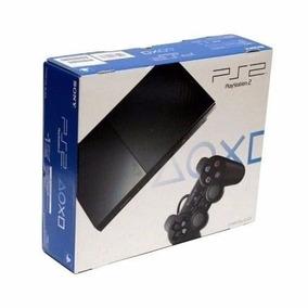 Playstation 2 Destravado+2 Controles+40 Brinde -frete Grátis