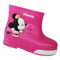 Bota Infantil Mickey E Minnie Galo Borracha 21419