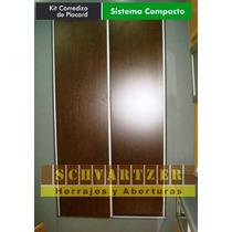 Kit Para Armar Placard Compacto De 1.50 Metros X 2.60