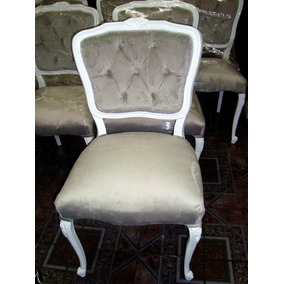 Sillon luis xv capitone muebles antiguos en mercado for Sillas tipo sillon
