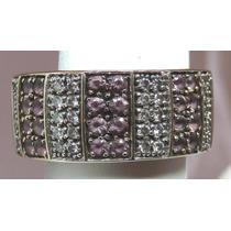 Pocao2005- Anel Ouro Branco 18k Diamantes Grife Vivara 749