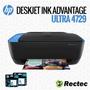Impresora Hp Deskjet Ink Advantage Ultra 4729 - 4500 Copias