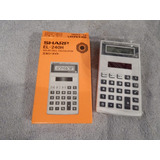 Calculadora Solar Sharp -made In Japan!!
