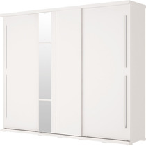 Roupeiro Henn Mauá 3 Portas Desliz Branco - Shop Tendtudo