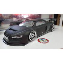 Bolha Kyosho Inferno Gt2 Audi R8 Preto Fosco 1/8 Original