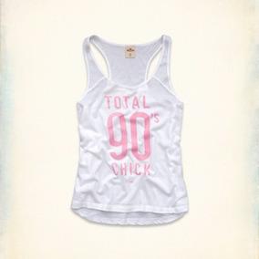 Camiseta Blusa Regata Abercrombie Fitch Hollister Feminina