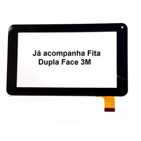 Tela Vidro Touch Screen Tablet Powerpack Pmd 7300 7308