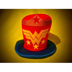 Solo X Mayoreo Sombrero Para Fiestas Mujer Maravilla