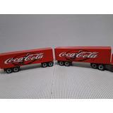 Novo Bitrem 1,63 Metros 9 Eixos Carreta Bau Coca Cola Scania