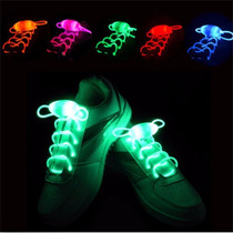 Trenza Led Silicon Cordones Con Luces Colores Zapato Patines